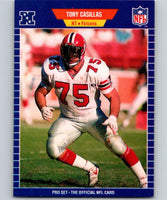 1989 Pro Set #6 Tony Casillas Falcons NFL Football