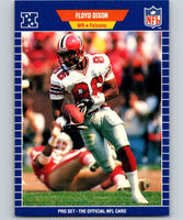 1989 Pro Set #7 Floyd Dixon Falcons NFL Football