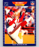 1989 Pro Set #8 Rick Donnelly Falcons NFL Football