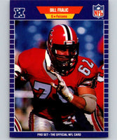 1989 Pro Set #9 Bill Fralic Falcons NFL Football