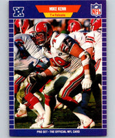 1989 Pro Set #11 Mike Kenn Falcons NFL Football