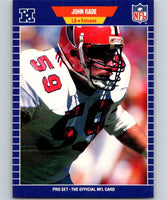 1989 Pro Set #13 John Rade Falcons NFL Football