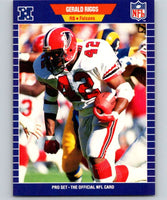 1989 Pro Set #14 Gerald Riggs Falcons UER NFL Football