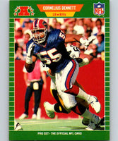 1989 Pro Set #17 Cornelius Bennett Bills NFL Football