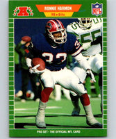 1989 Pro Set #20 Ronnie Harmon Bills NFL Football