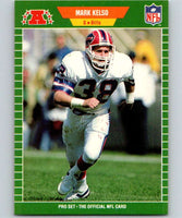 1989 Pro Set #23 Mark Kelso Bills NFL Football