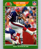 1989 Pro Set #25 Scott Norwood RC Rookie Bills NFL Football
