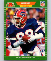 1989 Pro Set #26 Andre Reed Bills NFL Football