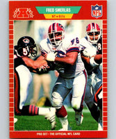 1989 Pro Set #27 Fred Smerlas Bills NFL Football