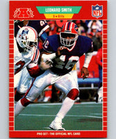 1989 Pro Set #29 Leonard Smith Bills NFL Football