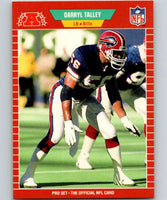 1989 Pro Set #31 Darryl Talley Bills NFL Football