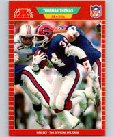 1989 Pro Set #32 Thurman Thomas RC Rookie Bills NFL Football