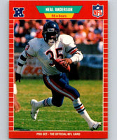 1989 Pro Set #35 Neal Anderson Bears NFL Football
