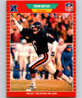 1989 Pro Set #36 Kevin Butler Bears NFL Football