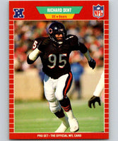 1989 Pro Set #38 Richard Dent Bears NFL Football