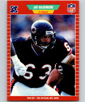 1989 Pro Set #42 Jay Hilgenberg Bears NFL Football