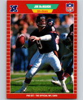 1989 Pro Set #44 Jim McMahon Bears NFL Football