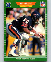 1989 Pro Set #50 Mike Singletary Bears NFL Football
