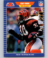 1989 Pro Set #70 Ickey Woods RC Rookie Bengals NFL Football