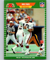 1989 Pro Set #76 Mike Pagel Browns NFL Football