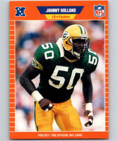 1989 Pro Set #137 Johnny Holland Packers NFL Football