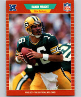 1989 Pro Set #138 Randy Wright Packers NFL Football