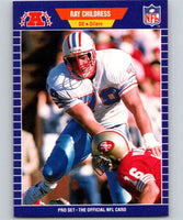 1989 Pro Set #141 Ray Childress Oilers NFL Football