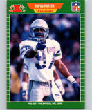 1989 Pro Set #400 Rufus Porter RC Rookie Seahawks NFL Football