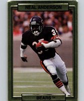 1989 Action Packed Test #1 Neal Anderson Bears NFL Football