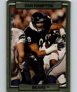 1989 Action Packed Test #6 Dan Hampton Bears NFL Football