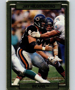 1989 Action Packed Test #7 Jay Hilgenberg Bears NFL Football