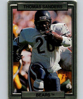 1989 Action Packed Test #8 Thomas Sanders Bears NFL Football