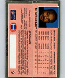 1989 Action Packed Test #9 Mike Singletary Bears NFL Football