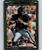 1989 Action Packed Test #10 Mike Tomczak Bears NFL Football