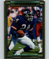 1989 Action Packed Test #12 Ottis Anderson NY Giants NFL Football