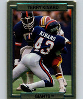 1989 Action Packed Test #14 Terry Kinard NY Giants NFL Football
