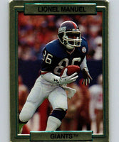 1989 Action Packed Test #15 Lionel Manuel NY Giants NFL Football