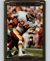 1989 Action Packed Test #21 Kelvin Bryant Redskins NFL Football