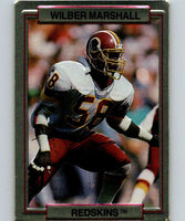 1989 Action Packed Test #25 Wilber Marshall Redskins NFL Football