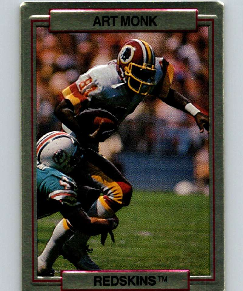 1989 Action Packed Test #26 Art Monk Redskins NFL Football