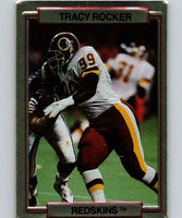 1989 Action Packed Test #28 Tracy Rocker Redskins NFL Football