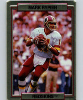 1989 Action Packed Test #29 Mark Rypien Redskins NFL Football