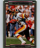 1989 Action Packed Test #30 Ricky Sanders Redskins NFL Football