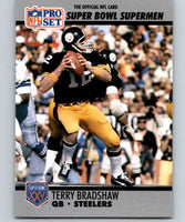 1990 Pro Set Super Bowl 160 #32 Terry Bradshaw Steelers NFL Football