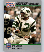1990 Pro Set Super Bowl 160 #34 Joe Namath NY Jets NFL Football