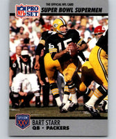 1990 Pro Set Super Bowl 160 #36 Bart Starr Packers NFL Football