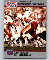 1990 Pro Set Super Bowl 160 #42 John Riggins Redskins NFL Football