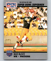 1990 Pro Set Super Bowl 160 #47 Max McGee Packers NFL Football