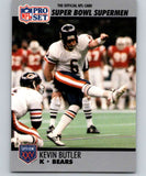 1990 Pro Set Super Bowl 160 #120 Kevin Butler Bears NFL Football