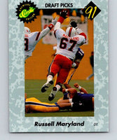 1991 Classic #2 Russell Maryland NFL Football